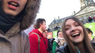 Lo fi vlog: National Tulip Day in Amsterdam