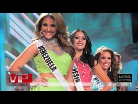 Donald Trump Miss Universe Pageant 2015 with Christine Curran on VIP TV