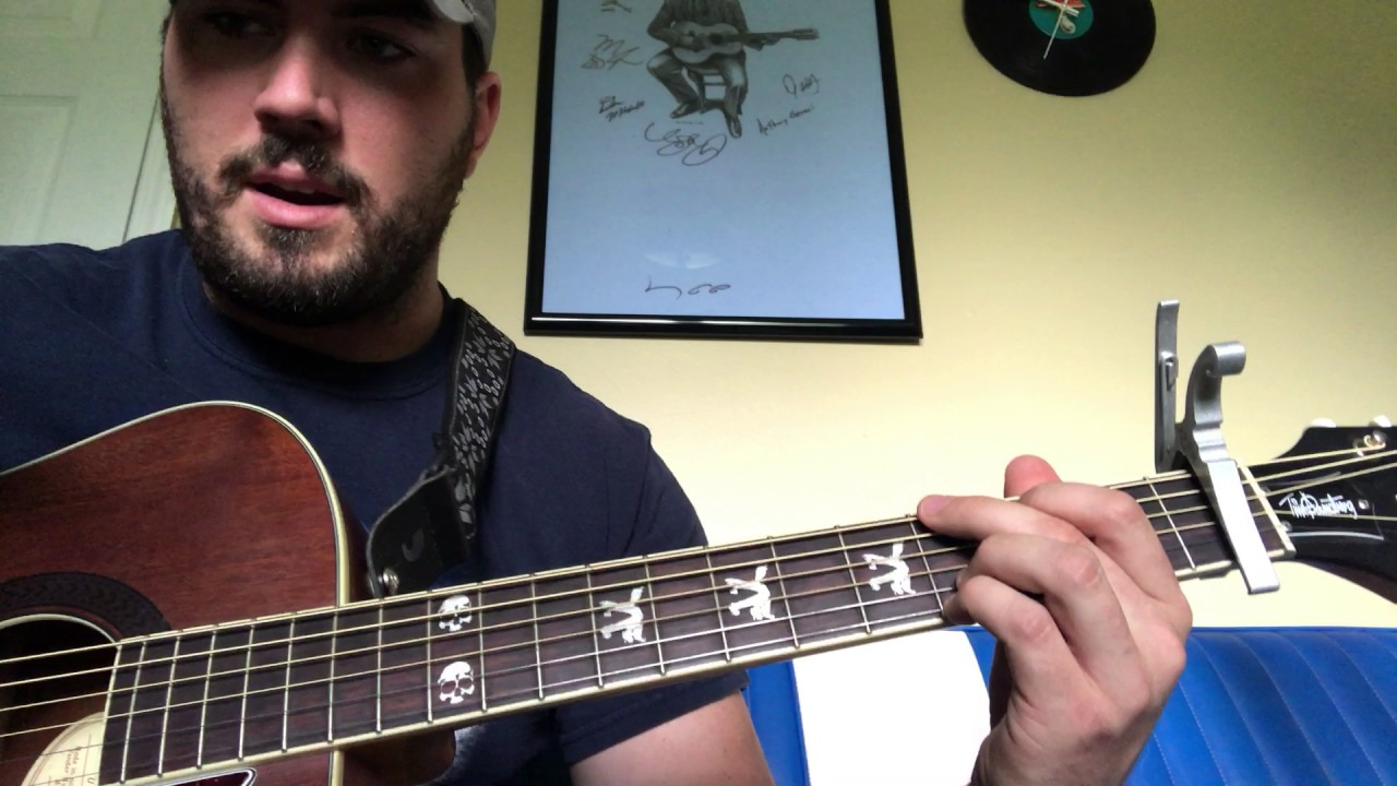 "How to play ""Broken Halos"" by Chris Stapleton"