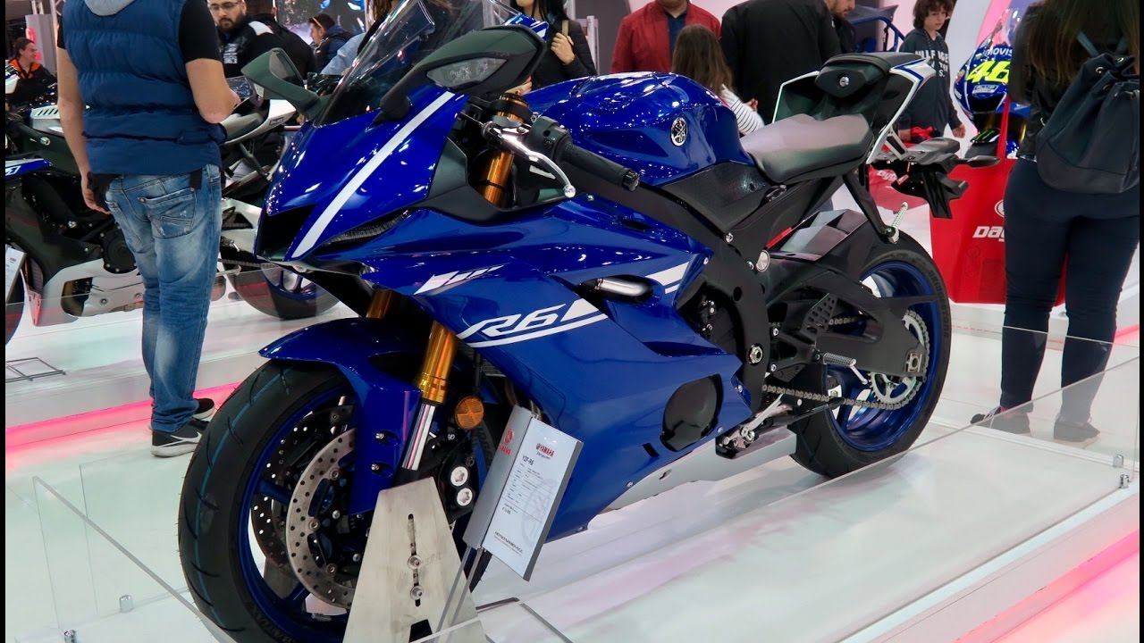 New Yamaha Yzf R6
