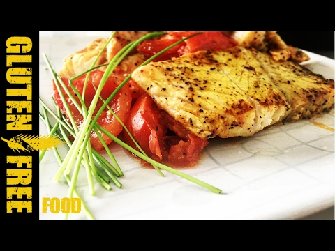 Lemon Grilled Nile Perch With Tomatoes - Gluten Free Recipe