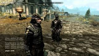 SKYRIM: Get full set daedra weapon and armor with console