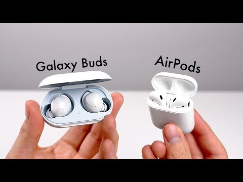 Samsung Galaxy Buds - Review & Vergleich mit Apple AirPods (Deutsch) | SwagTab