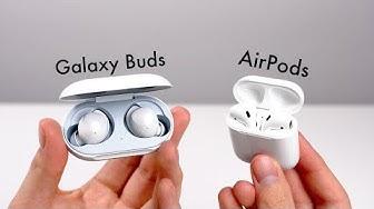Samsung Galaxy Buds - Review & Vergleich mit Apple AirPods (Deutsch) | SwagTab