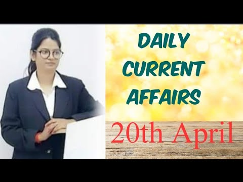 DAILY CURRENT AFFAIRS 20th APRIL 2020 FOR SBI CLERK MAINS,SBI PO, IBPS CLERK/IBPS PO |