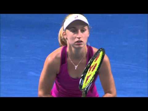 Kristina Mladenovic v Daria Gavrilova (3R) | Australian Open 2016