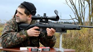 Малокалиберный карабин МР-161к. Стреляем на 50 и 100 м.