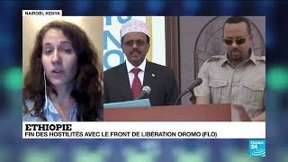 Fin des hostilités entre l''Ethiopie et le Front de libération Oromo