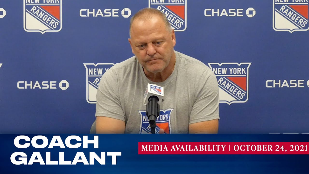 Download New York Rangers: Coach Gallant Media Availability | Oct. 24, 2021