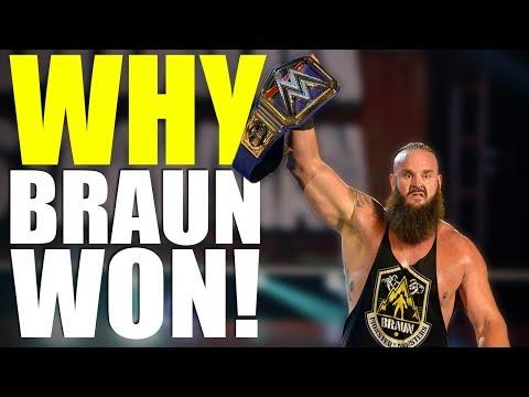 Reasons WHY Braun Strowman WON The WWE Universal Championship At WWE Wrestlemania 36!