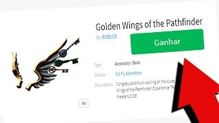 HOW to GET a WING for FREE in ROBLOX! 😱