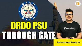 DRDO PSU Through GATE   Job Notification   DRDO   PSU   GATE 2021  Ravindrababu Ravula