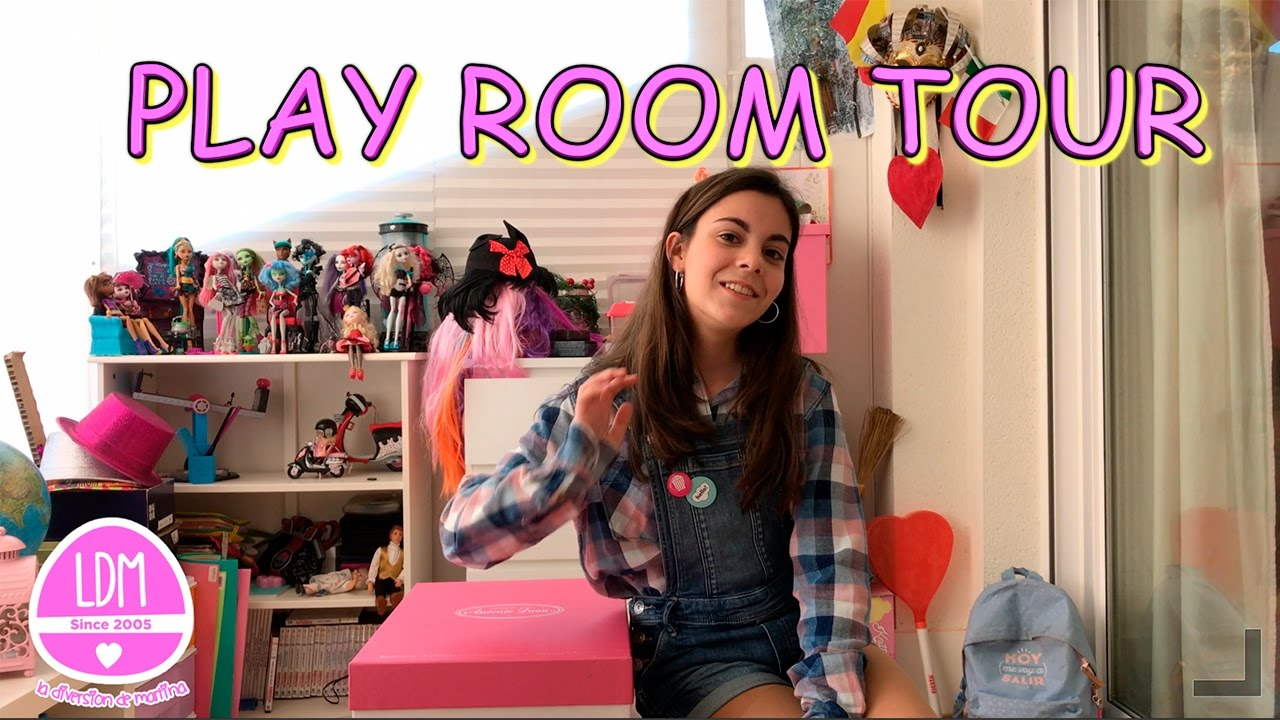 PLAY ROOM TOUR * ENSEÑO MI HABITACION DE JUEGOS/ LA DIVERSION DE ...