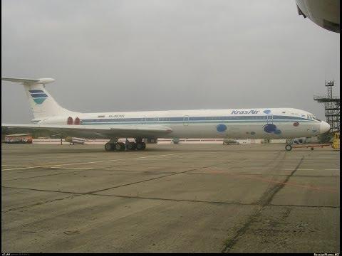2001 год.  Полет Красноярск-Минеральные воды ИЛ-62 RA-86709