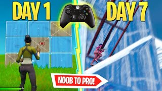 1 WEEK Progression Switching from KEYBOARD to CONTROLLER… *with HANDCAM*