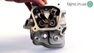 Головка двигателя в сборе (168F; 6,5 л.с.)