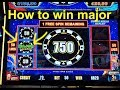 ⚡How to win the major jackpot on Lightning Link slot machine.🎰
