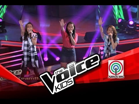 """The Voice Kids Philippines Battles """"Ain't No Mountain High Enough"""" by Katherine, Stacy & Arianna"""