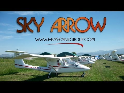 Sky Arrow, SkyArrow high wing, tandem seating, all composite light sport aircraft
