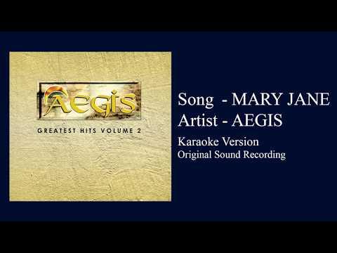 Aegis - Mary Jane (Karaoke Version - Original Sound Recording)