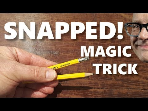 Learn Broken Pencil Magic Trick (Magic Secret REVEALED!)