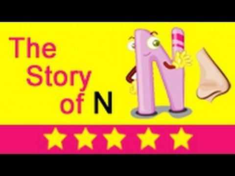 Alphabet Songs - Story Of Letter N for Nursery Kids - YouTube