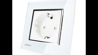 Комплект розеток Livolo(Ссылка на Комплект розеток Livolo: Панель на сенсорный выключатель: http://ali.pub/86yjl Розетка на телевизор и компьют..., 2015-09-13T08:22:09.000Z)