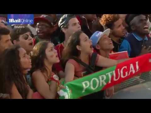 fans reaction after Ronaldo injured