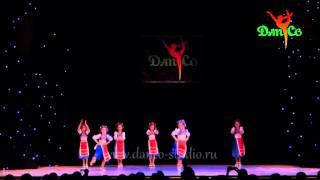 'DanCo. Отчетный концерт 'Украинский танец' группа общей хореографии (7-8) лет, хореограф Елена М.