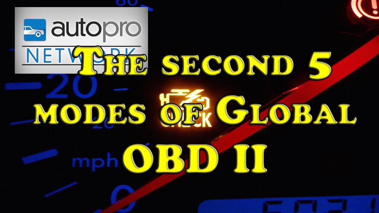 The Trainer #63 - Global OBD II Modes 6 Thru 10