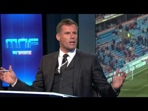 MNF  Neville and Carragher 'disagree' over wing backs
