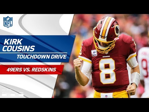 Kirk Cousins Puts Togethers Another Great TD Drive!   49ers vs. Redskins   NFL Wk 6 Highlights
