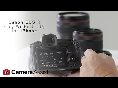 Connect your EOS R to your iPhone via Wi-Fi