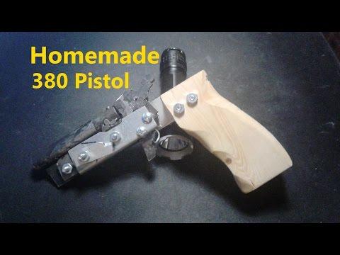 Homemade Single Shot .380 Pistol (w/ Firing Test)