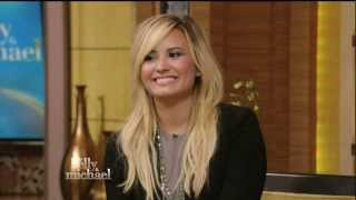 [HD] Demi Lovato - Live! With Kelly & Michael - September 3rd, 2013