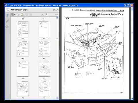 toyota mr2 mk2 workshop service repair manual wiring youtube rh youtube com 2000 Toyota Spyder toyota mr2 spyder workshop manual