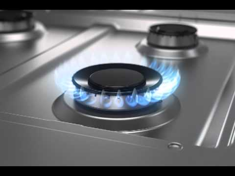 Single Burner Gas Stove Silver