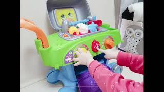 립프로그 신상 BBQ카트 유아장난감 사용법과 16개월 …