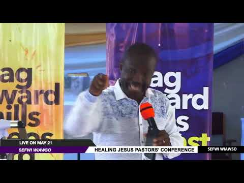 WATCH THE HEALING JESUS PASTORS' CONFERENCE, LIVE FROM SEFWI WIAWSO - GHANA, DAY 1.