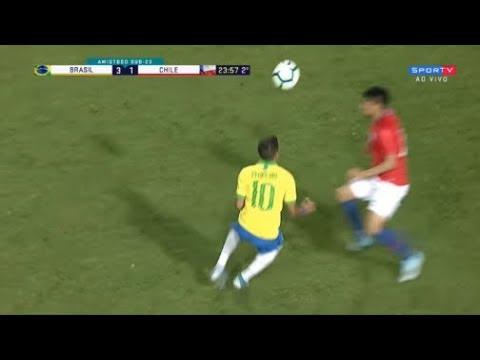 OLHA O QUE O PEDRINHO FEZ CONTRA O CHILE NA SELEÇÃO BRASILEIRA OLÍMPICA (09/09/2019)