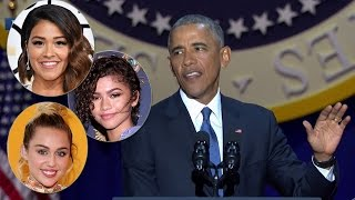 Celebs React To President Obama