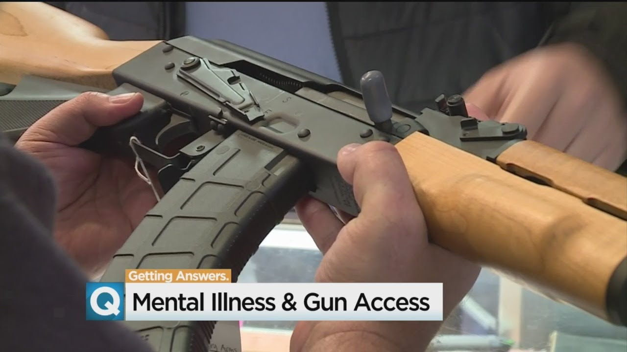 California Lawmaker Wants Lifetime Gun Ban For People With Mental Illness