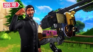 I Bet You've Never Thought Of Using A Turret Like This... (fortnite Battle Royale)