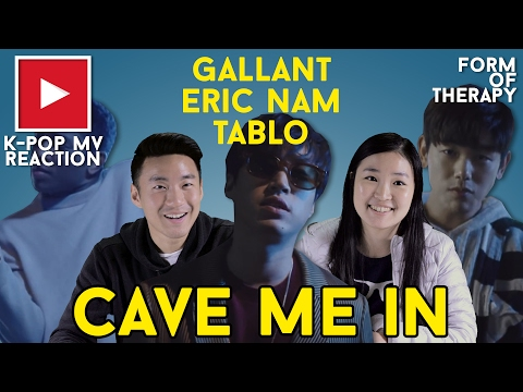 """Asian Americans React to Gallant x Eric Nam x Tablo """"Cave Me In"""""""