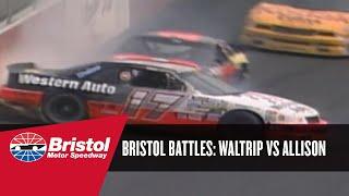Bristol Battle: Darrell Waltrip vs. Davey Allison (1991)