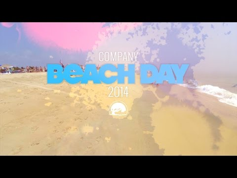 Company Beach Day 2014