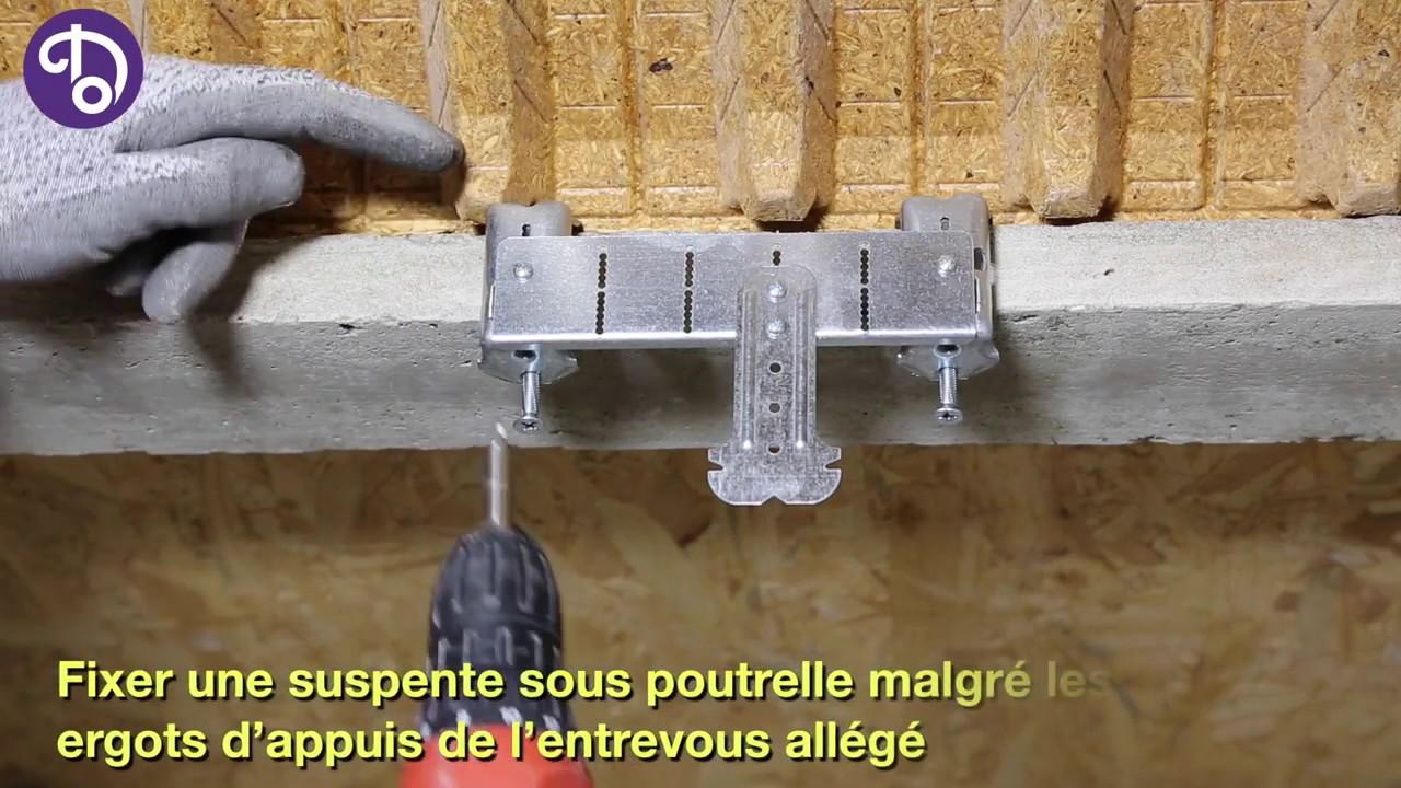 Suspente Poutrelle Béton Pour Hourdis Allégé Chabanne Batiment