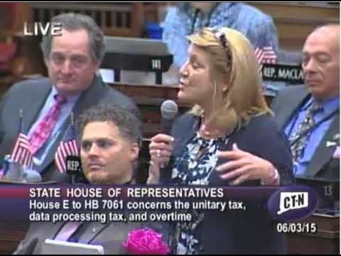 Rep. Kupchick on budget and impact of unitary tax