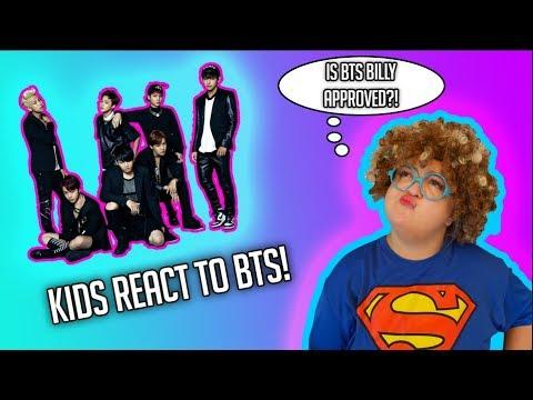 KIDS REACT TO BTS KPOP
