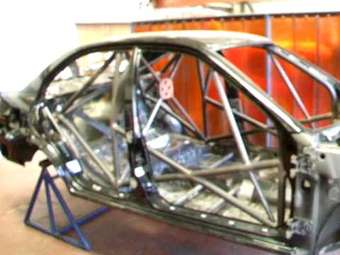 Custom Cages Sample Rollcage Certification Video Youtube